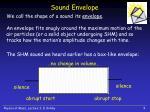 sound envelope