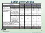 buffer zone credits