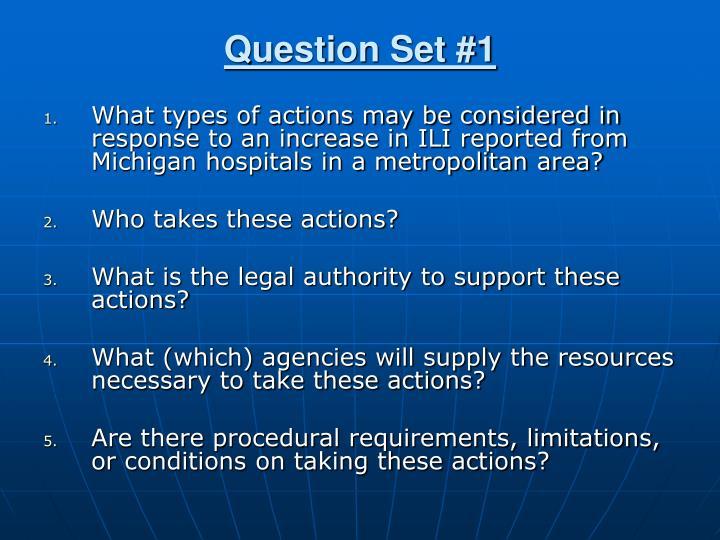 Question Set #1