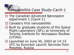 nanosatellite case study canx 1
