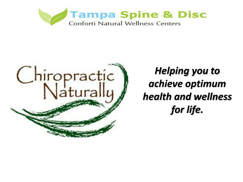 Helping you to achieve optimum health and wellness for life.