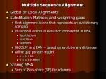 multiple sequence alignment7