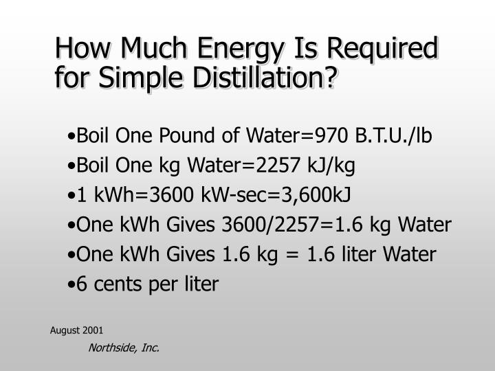 PPT - NORTHSIDE Water & Power from Solar Energy Systems