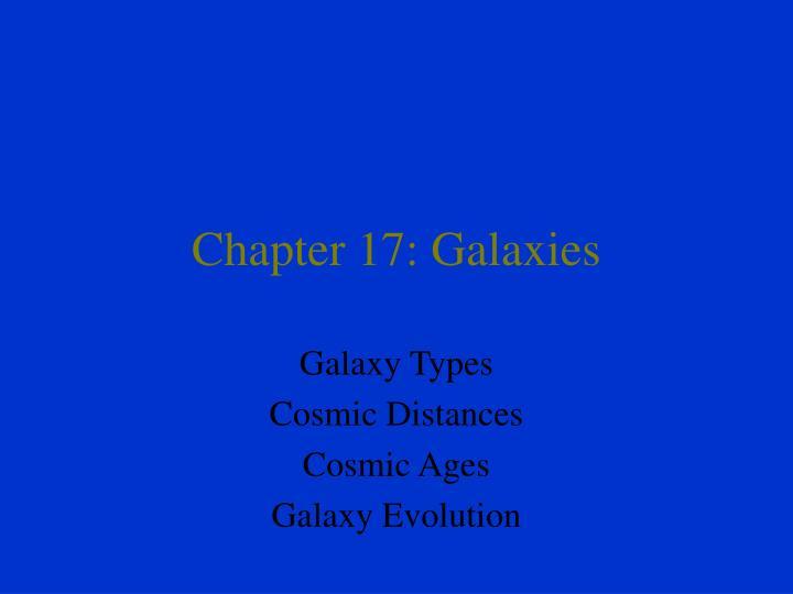 chapter 17 galaxies n.