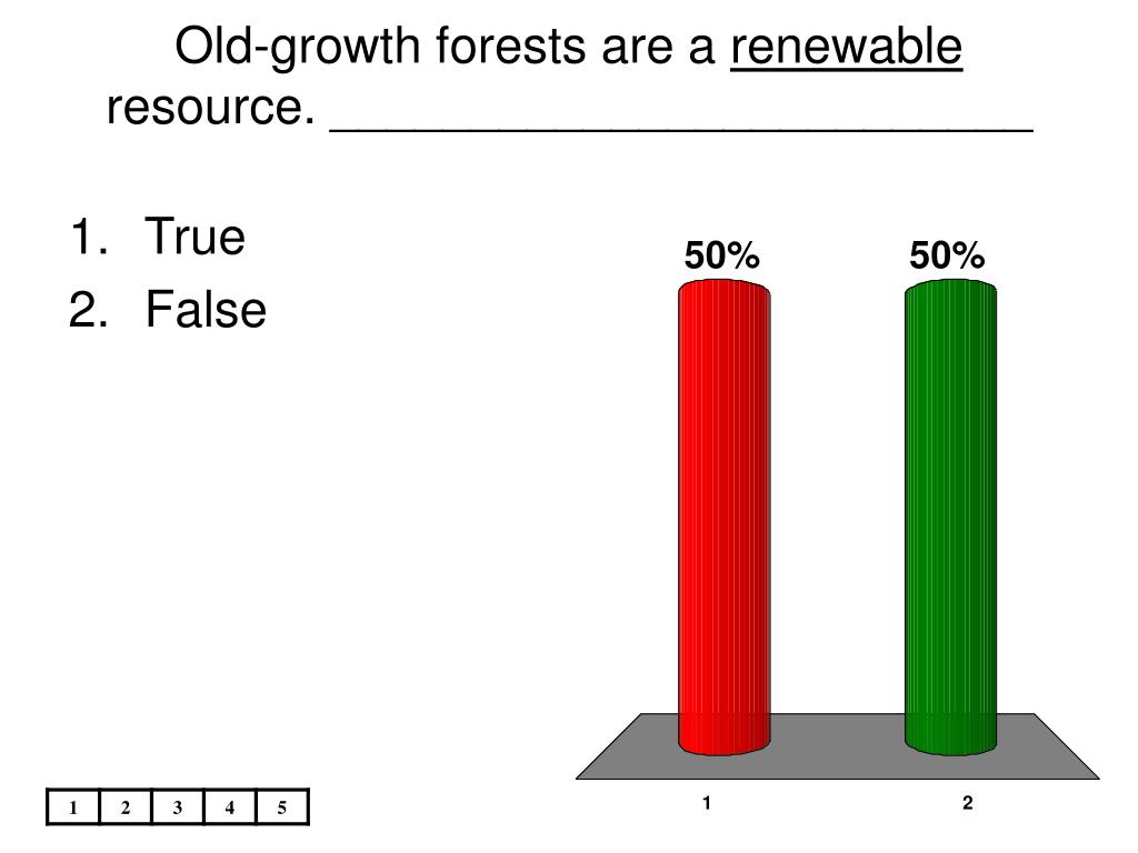 Old-growth forests are a