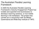 the australian flexible learning framework