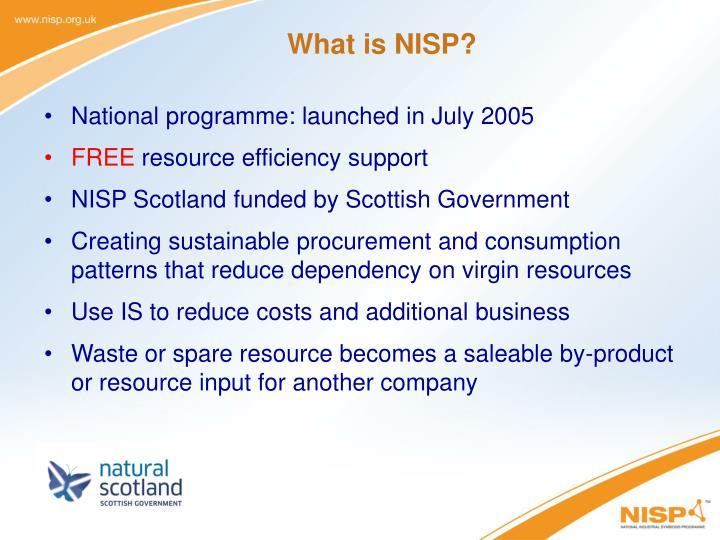 What is nisp
