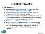 highlights cont d24