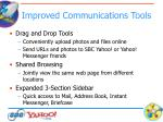 improved communications tools