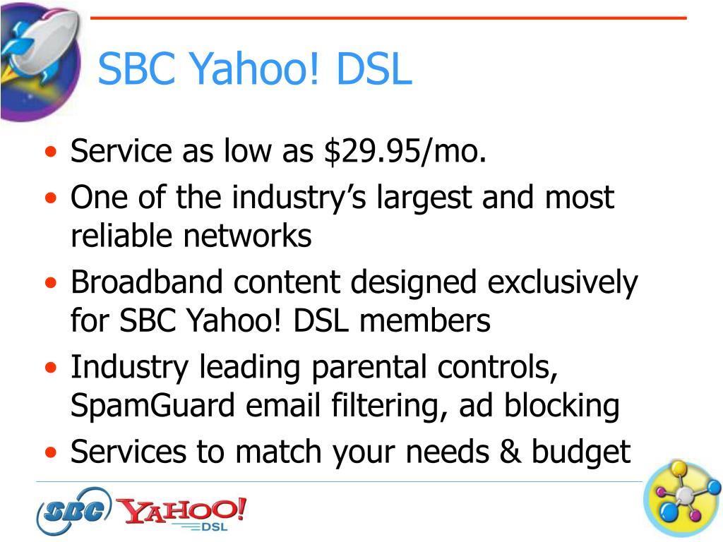 SBC Yahoo! DSL