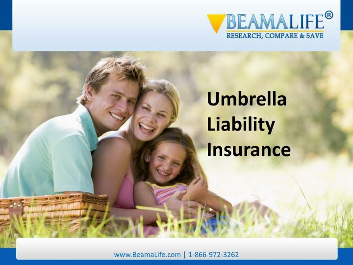 Umbrella Liability Insurance