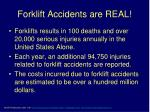 forklift accidents are real