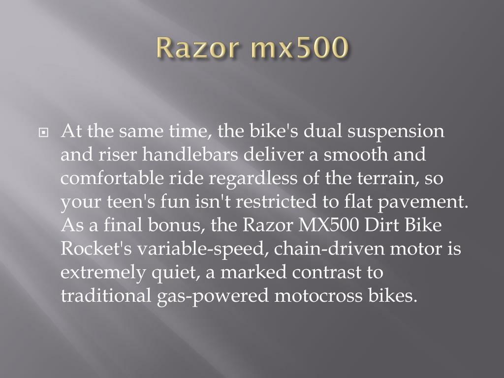 Razor mx500