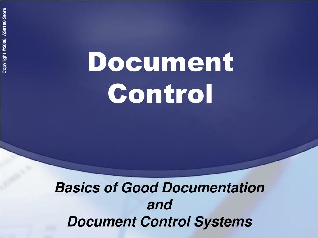 document control l.
