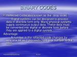 binary codes15