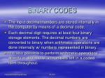 binary codes3