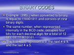 binary codes4