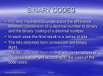 binary codes5