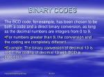 binary codes6