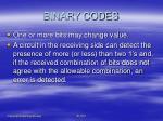 binary codes9