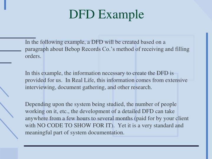 DFD Example