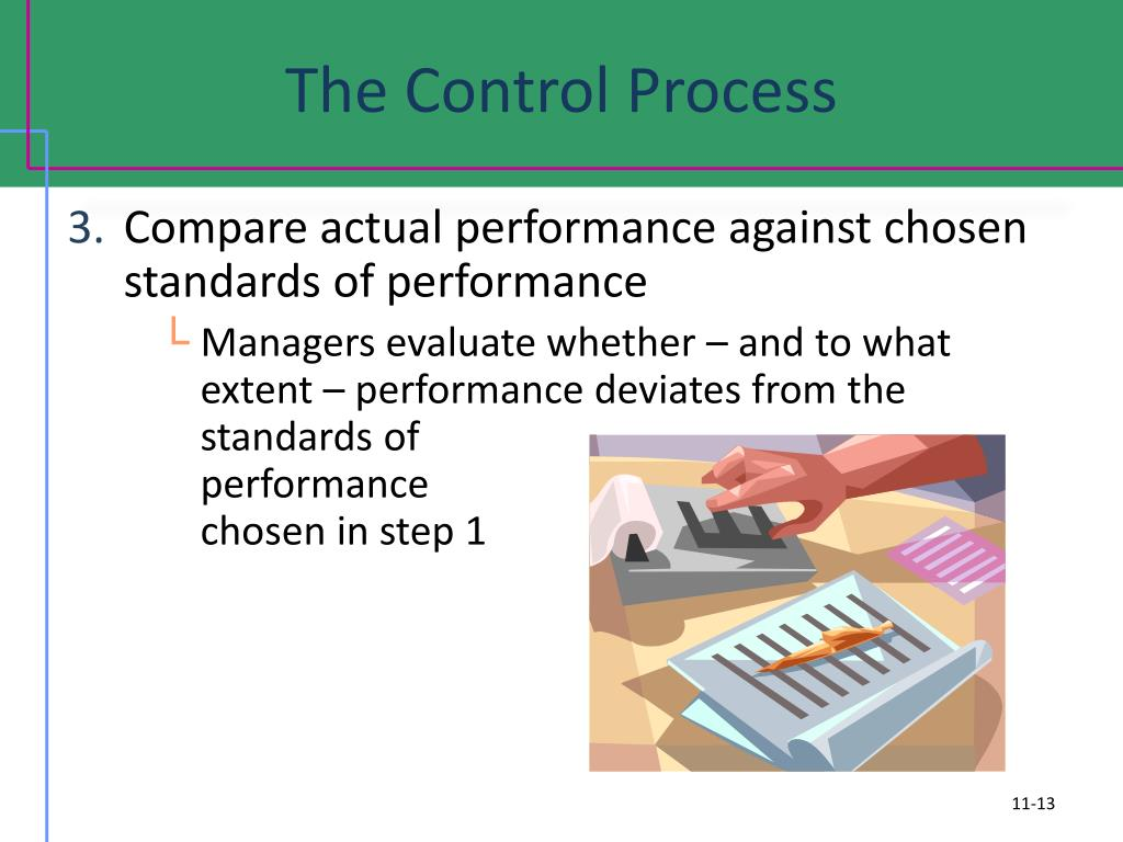 The Control Process