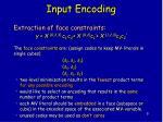 input encoding3