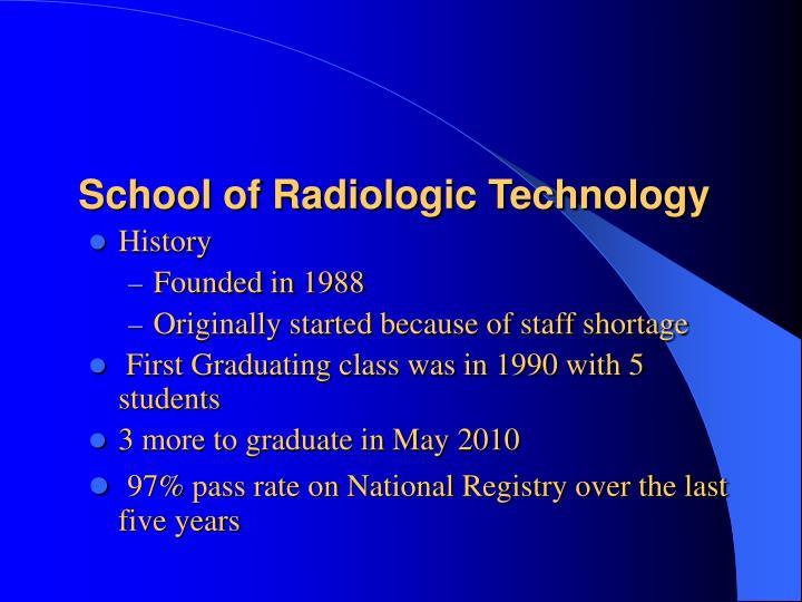 School of Radiologic Technology