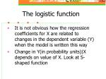 the logistic function28