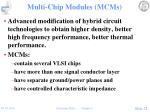 multi chip modules mcms