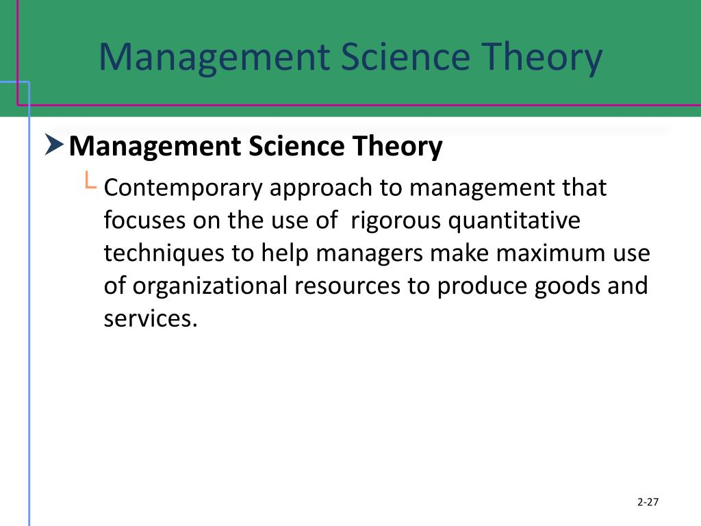 contemporary approaches in management