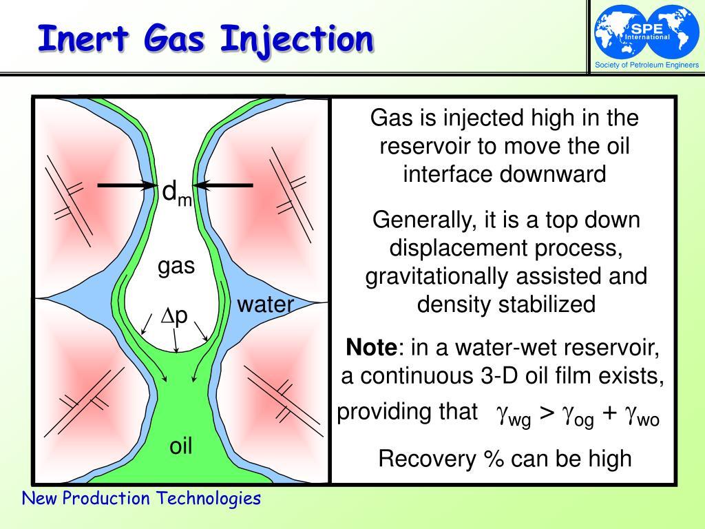 Inert Gas Injection