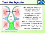 inert gas injection