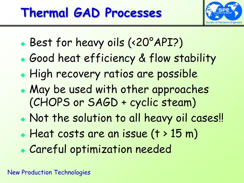Thermal GAD Processes