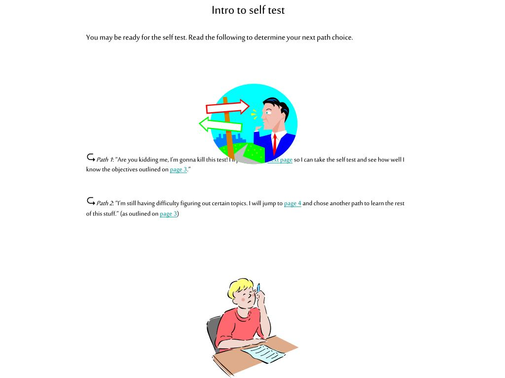 Intro to self test