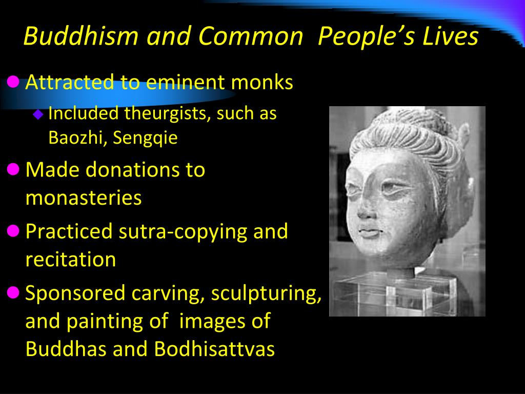 Buddhism and Common  People's Lives