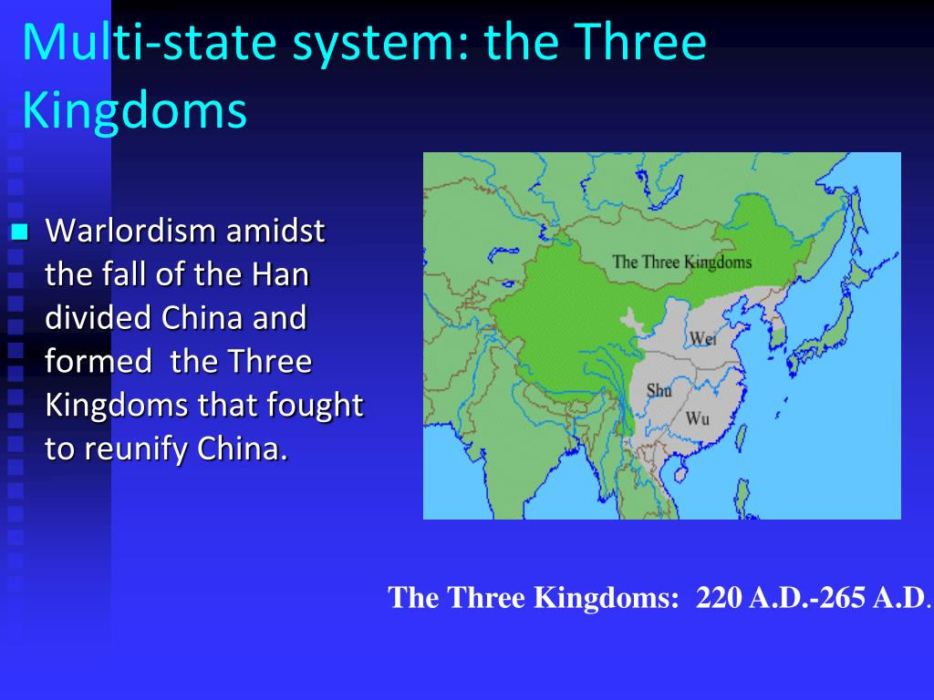 Multi-state system: the Three Kingdoms
