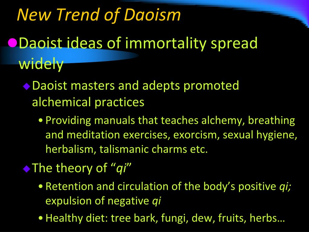 New Trend of Daoism