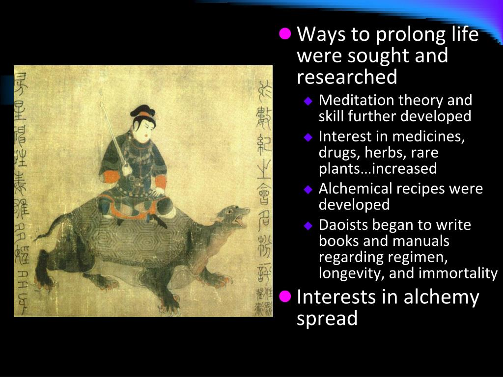 Ways to prolong life were sought and researched