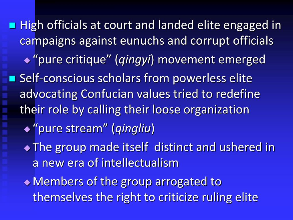 High officials at court and landed elite engaged in campaigns