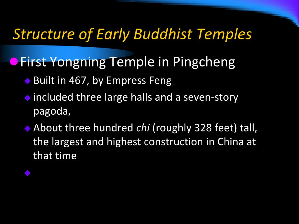 Structure of Early Buddhist Temples