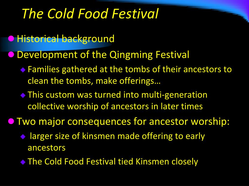 The Cold Food Festival