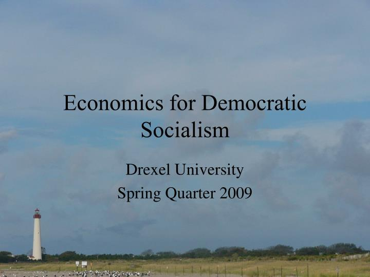 economics for democratic socialism n.