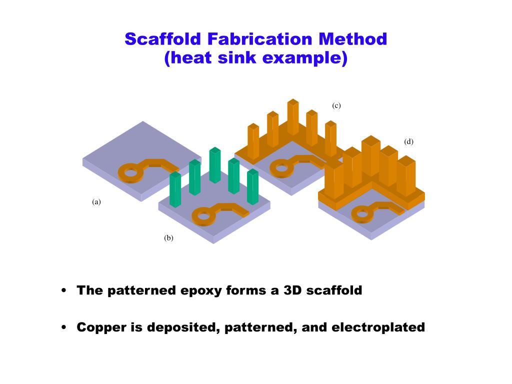 Scaffold Fabrication Method