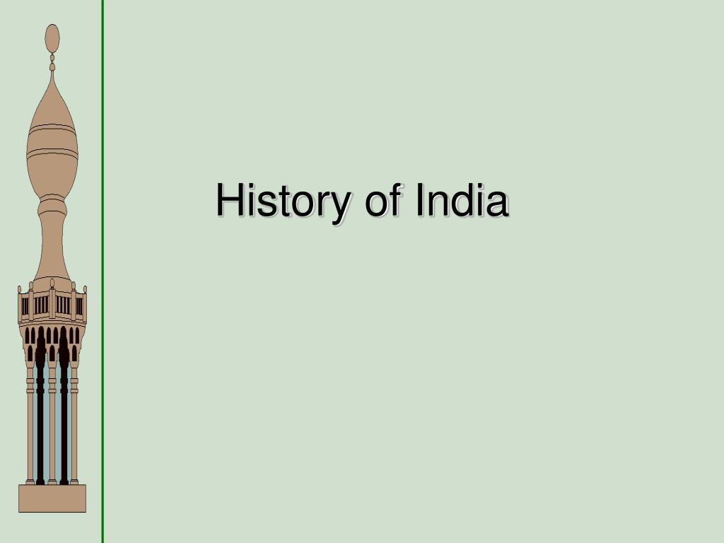 history of india l.