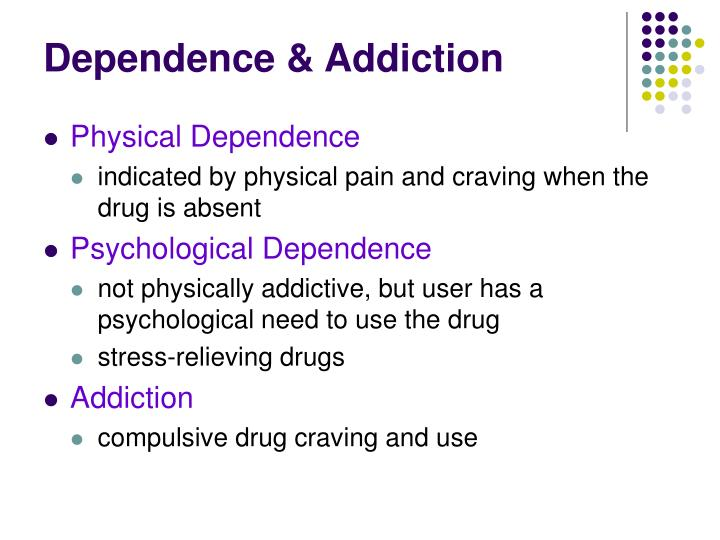 Dependence & Addiction
