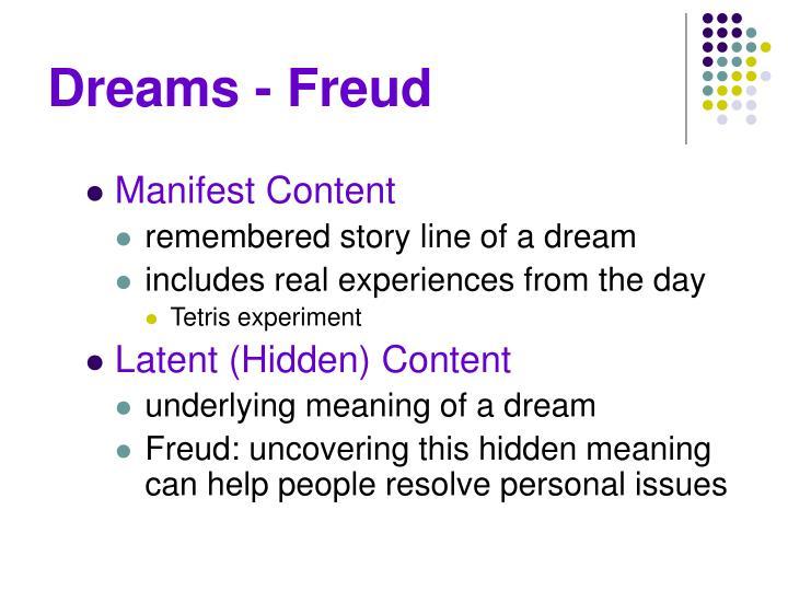 Dreams - Freud