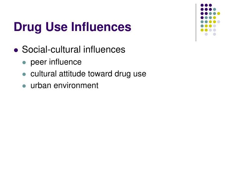Drug Use Influences