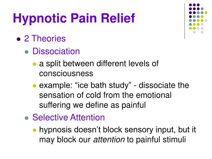 Hypnotic Pain Relief