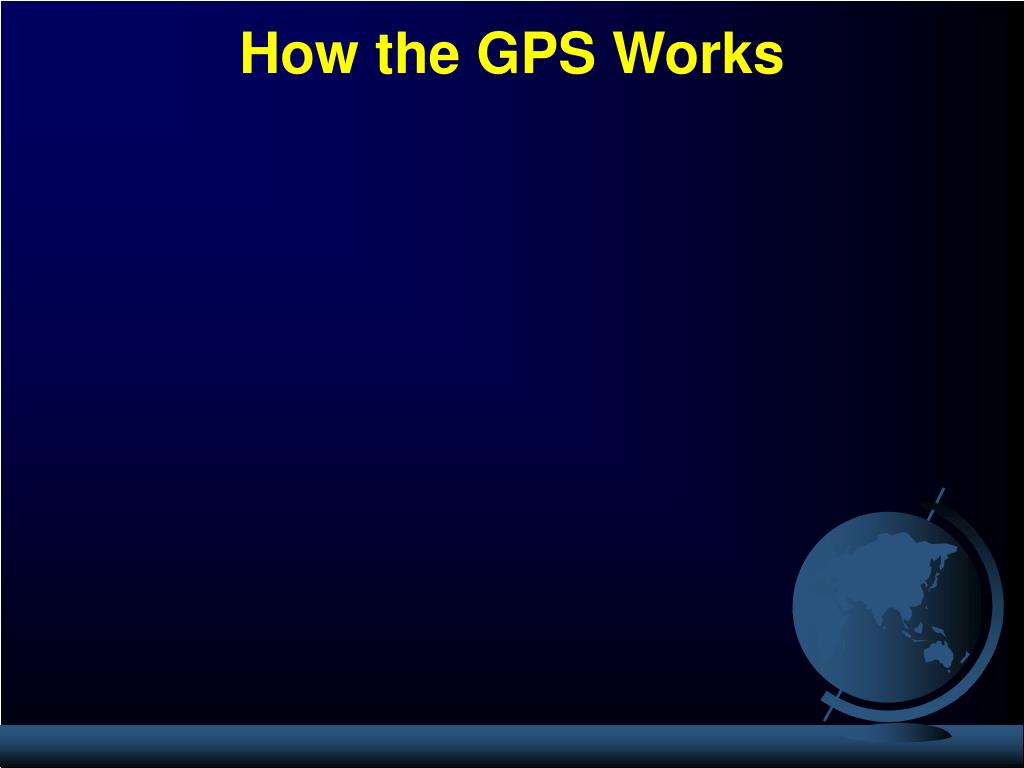 How the GPS Works